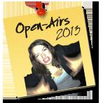 Open Air Auftritte 2013